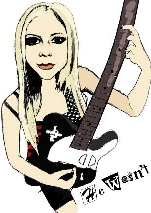 Avril Lavigne par GwenKaulitzFan